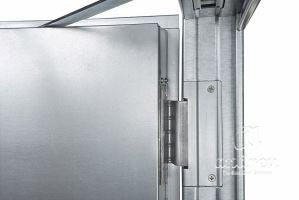 accesorio bisagra oculta puerta metalica batiente cortafuegos andreu