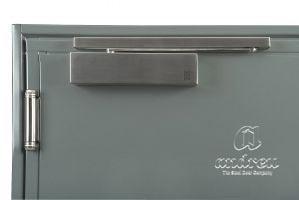 Accessoire ferme porte bras à coulisse porte métallique Andreu 140040