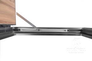 accesory metal door concealed door closer andreu 150124