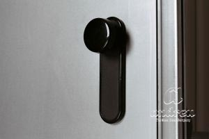 accessory handle pvc knob shield metal door Andreu 060452