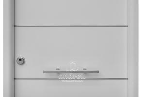 accessori manilló horitzontal porta metàl·lica batent residencial andreu