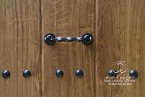 accesorio manillon rustico residencial puerta metalica andreu