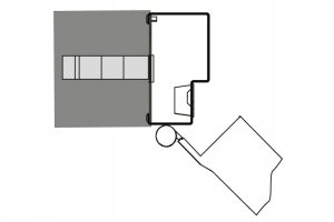 metal door swing residential Andreu entrance housing Contemporary 190034