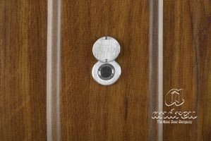 accessories porthole for residencial metallic door Andreu