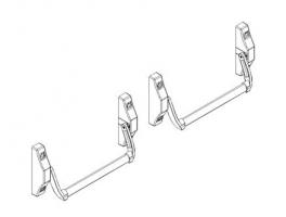 Accessoires barres antipanique embouties 4000N porte métallique andreu 150051
