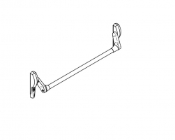 accesorio antipanico embutir CISA 59647 puerta metalica andreu