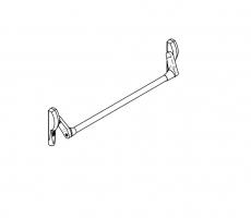 accesorio antipanico sobreponer CISA FAST PUSH puerta metalica andreu