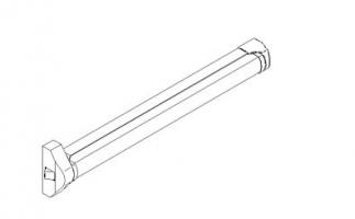 accesorio antipanico sobreponer QUICK 1punto puerta metalica andreu