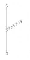 accessoire antipanique QUICK 3 points porte métallique Andreu 160109