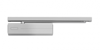 Accessories Door closer woth guide rail DC500 ABLOY (Assa Abloy) for metallic door Andreu
