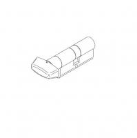 cylinder accessory TE5 30x30 with brass knob andreu swing metal door