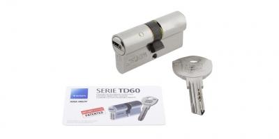 Accessoire cylindre TESA TD60 porte métallique battante andreu