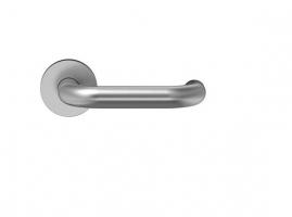 accesorio manilleria inox roseta manivela ECO D110 puerta metalica andreu