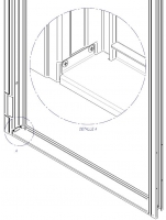 accesorio riostra tipo volta puerta metalica batiente andreu