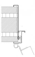 acople marco ancho CS5 cortafuegos puerta metalica andreu
