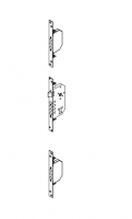 accessory lock 3 points residential door versate metal Andreu 050094-3