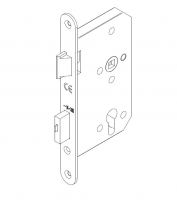 Lock ECO 1 point closure GBS93 for metalic door Andreu