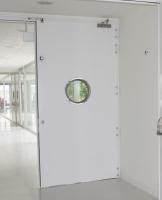 hôpital haute résolution Séville porte pare-feu métallique battante andreu