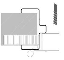 accesorio marco C70 multiusos puerta metalica andreu