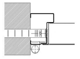 marco CM65 cortafuegos puerta metalica andreu