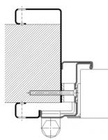 marco CS5 abrazamuros paneles 11 018 puerta metalica andreu