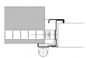 accesorio marco CS5 cortafuegos puerta metalica andreu