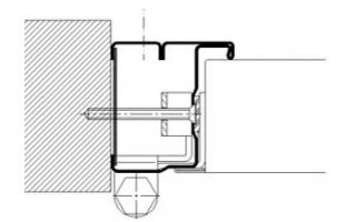 marco CS5 tubular cortafuegos  puerta metalica andreu