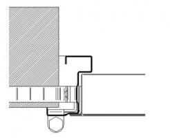 accesorios marco CS65 inox puerta metalica andreu
