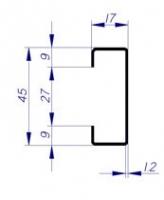 pré-cadre CS4 mur rigide multi-usage porte métallique andreu