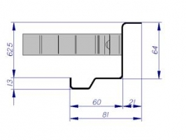 pré-cadre CS5 mur rigide multi-usage porte métallique andreu