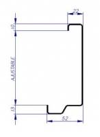 pré-cadre enrobant CS4 CSO mur fléxible multi-usage porte métallique andreu
