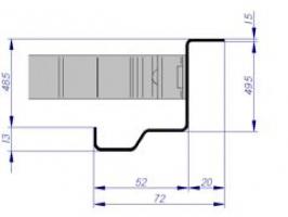 premarco esquinero CS4 CSO muro rigido multiusos puerta metalica andreu