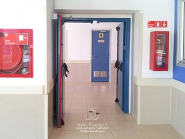 Steel flip flap fire door andreu 150200