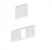 puerta metalica batiente ventilacion rejilla solapada multiusos andreu