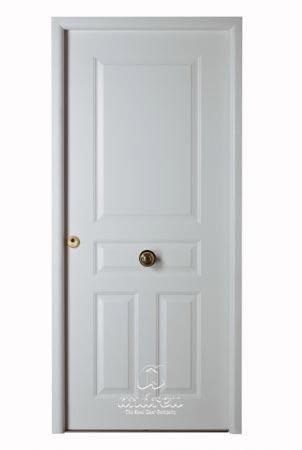 puerta metalica batiente residencial versate andreu