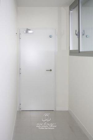 hospital gandia valencia puerta metalica batiente cortafuegos andreu