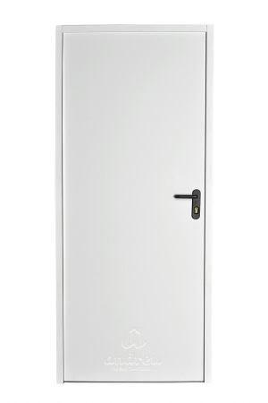 puerta metalica batiente bisagra cierrapuertas oculto cortafuegos andreu