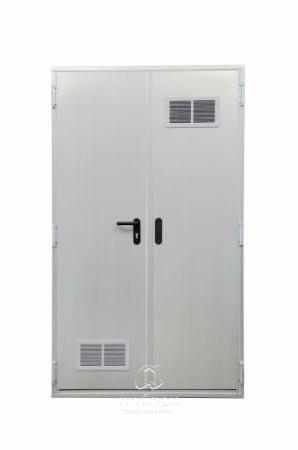 puerta metalica batiente cortafuegos registro andreu