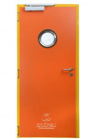 puerta metalica batiente cortafuegos turia andreu