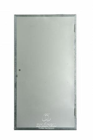 puerta metalica batiente multiusos registro compañia liso andreu