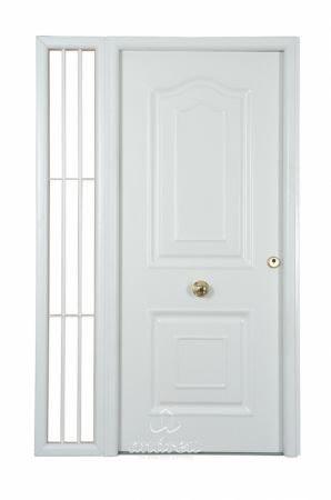 puerta metalica batiente residencial compact andreu