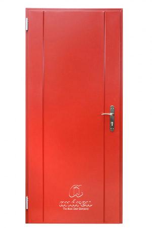 puerta metalica batiente residencial line V11 andreu