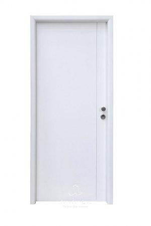 puerta metalica batiente residencial line V1C andreu