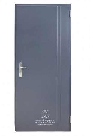 puerta metalica batiente residencial line V2B andreu
