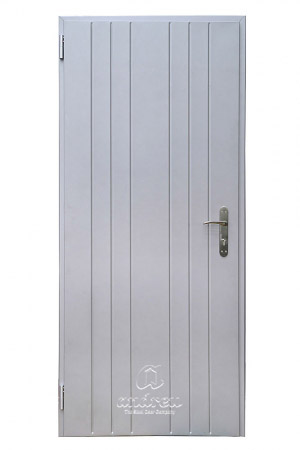 puerta metalica batiente residencial line V33 andreu