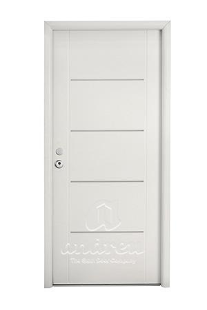 puerta metalica batiente residencial scala andreu