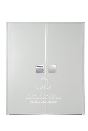 puerta metalica batiente bisagra cierrapuertas oculto cortafuegos premium andreu