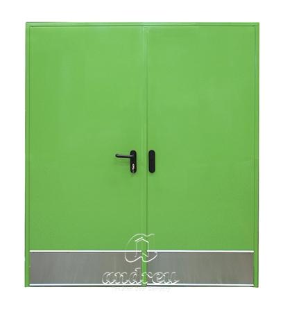 puerta metalica batiente bisagra cierrapuertas oculto cortafuegos doble hoja 120 andreu