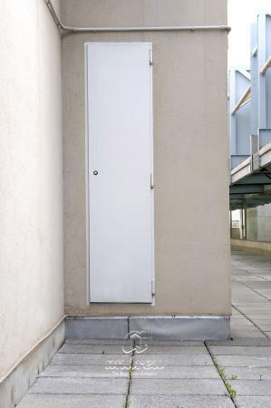 puerta metalica batiente cortafuegos registro lex andreu