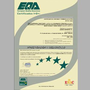 Andreu obtiene Certificación I+D+i en un Proyecto de nuevas Puertas Corta-Fuegos